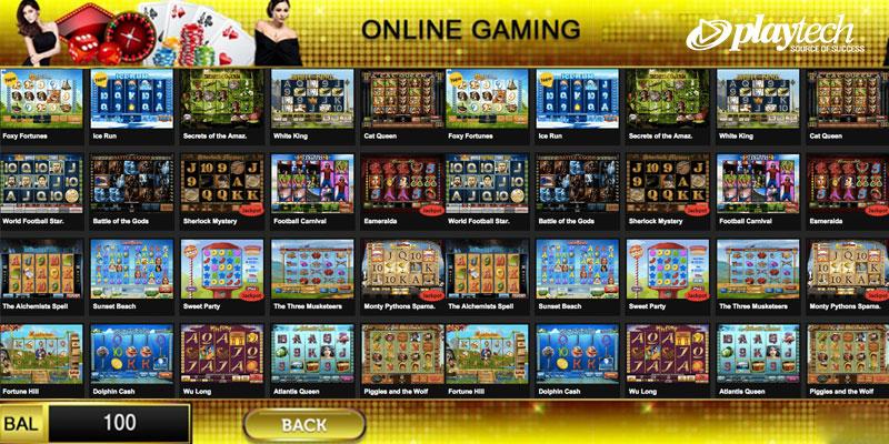 Playtech Slot Online Game