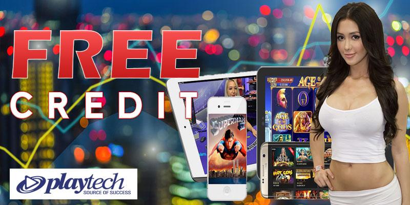 Playtech Slot Free Credit No Deposit